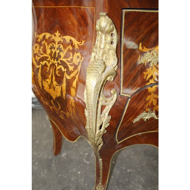 Mid 19th Century Antique French Bombay Commode For Sale - Image 10 of 13