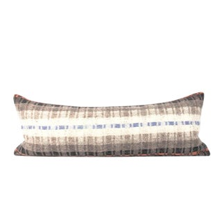 Neutral Ombre Bed Lumbar Throw Pillow