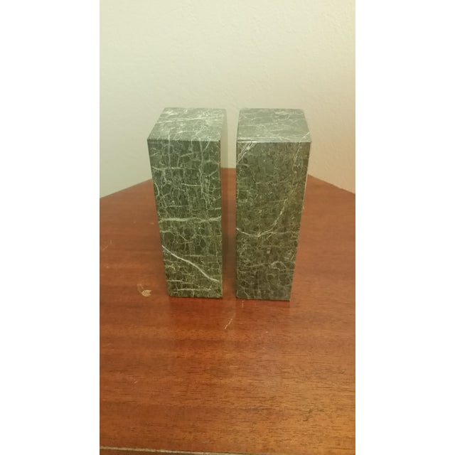 Vintage Bey-Berk Marble Medical Profession Bookends - a Pair For Sale - Image 4 of 8