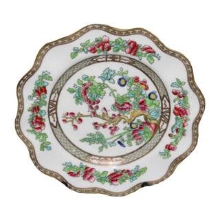 Indian Tree Motif China Dinner Plate For Sale