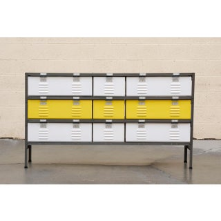 5 X 3 Locker Basket Unit With Specialty Double Wide Baskets, Custom Made to Order Preview
