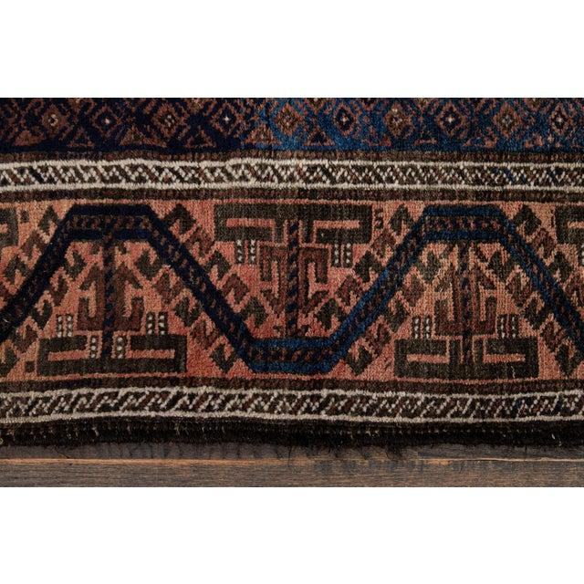 Vintage Medallion Design Wool Rug 3' X 4'4'' For Sale - Image 10 of 13