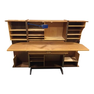 Modern Teak Danish Desk in a Box Secretary Desk by 'Leif Elvestad' For Sale