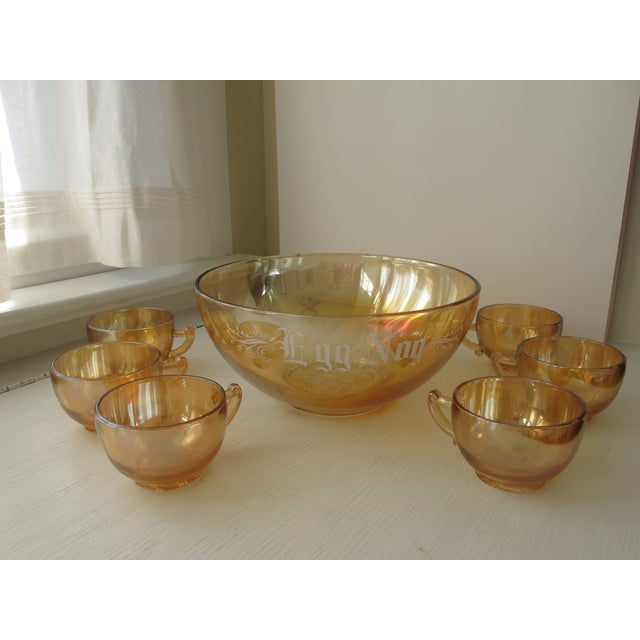 Holiday Punch Bowl - Image 2 of 5