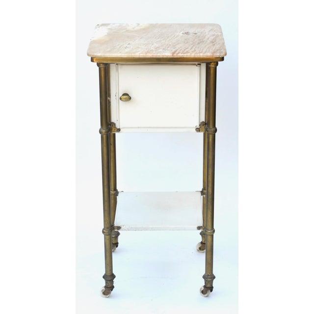 Antique Medical Cabinet Rolling Cart For Sale - Image 10 of 10
