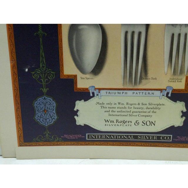 "Vintage ""International Silver Corporation"" Ad For Sale - Image 4 of 4"