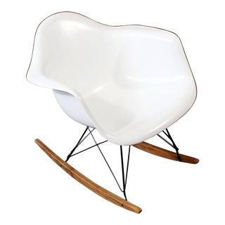 Mid-Century Modern Vintage Eames Herman Miller Shell Rocker Rocking Chair, 1970s For Sale