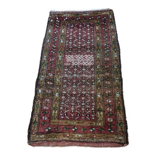 Late 20th Century Antique Turkish Konya Rug - 3′2″ × 5′10″ For Sale