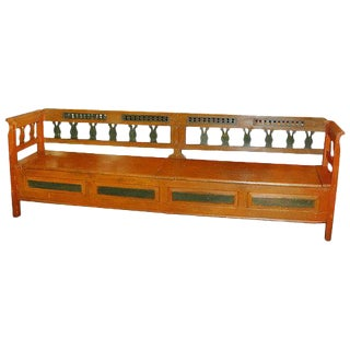 European Long Bench For Sale