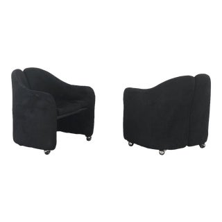 Set of 2 Ps 142 Dining Chairs by Eugenio Gerli for Tecno For Sale
