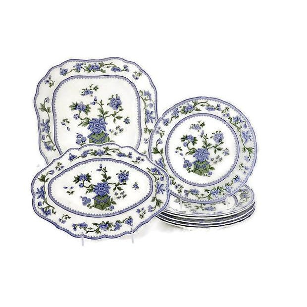 Vintage Royal Worcester Spring Serving Set - Set of 8 - Image 4 of 4