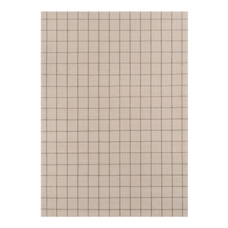 Erin Gates by Momeni Marlborough Deerfield Ivory Hand Woven Wool Area Rug - 5' X 8' For Sale