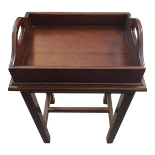 Small Wooden Tray Table