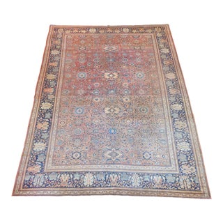 Antique Persian Sarouk Farahan Rug - 8′4″ × 10′6″ For Sale