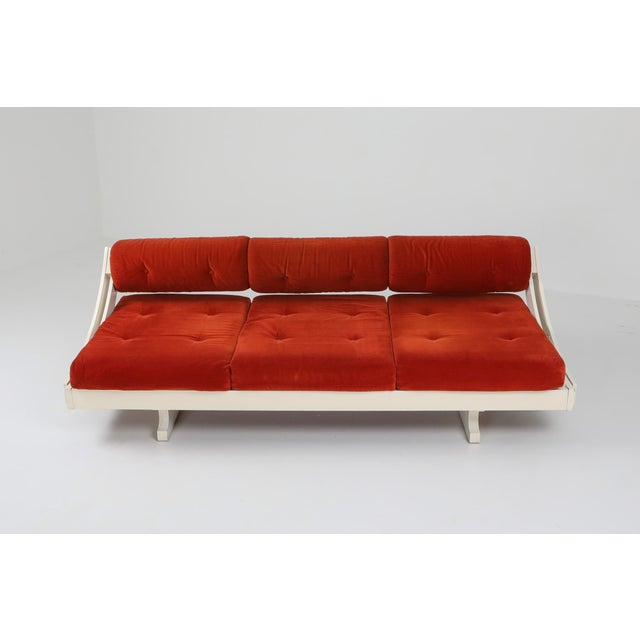 Wood 1960s Gs195 Daybed and Sofa by Gianni Songia For Sale - Image 7 of 11