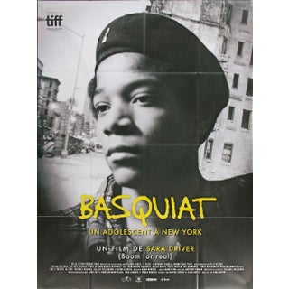 Jean-Michel Basquiat French Original Oversize Movie Poster For Sale