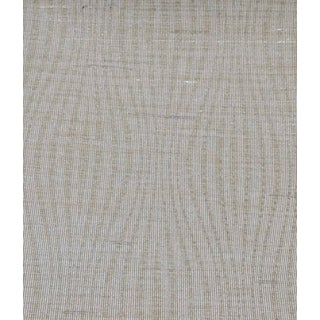 Silver Moire Neutral Wavy Pattern Wallcovering For Sale