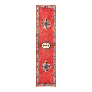 1980s Moroccan Runner Rug - 2′3″ × 9′6″ For Sale
