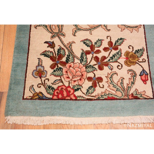 Tabriz Persian Runner Rug - 2′11″ × 12′10″ For Sale In New York - Image 6 of 8