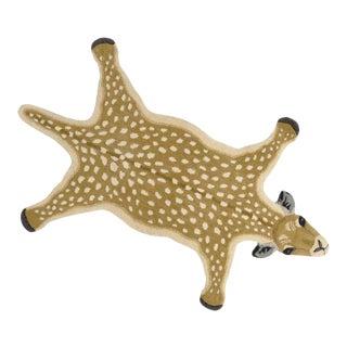 Boho Chic Bambi Style Deer Rug For Sale