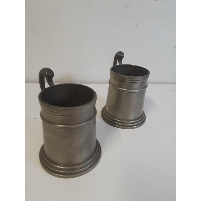 Vintage Pewter Drinking Cups - A Pair - Image 3 of 4