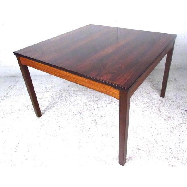 1970s Mid-Century Bruksbo Rosewood Coffee Table by Haug Snekkeri For Sale - Image 5 of 9