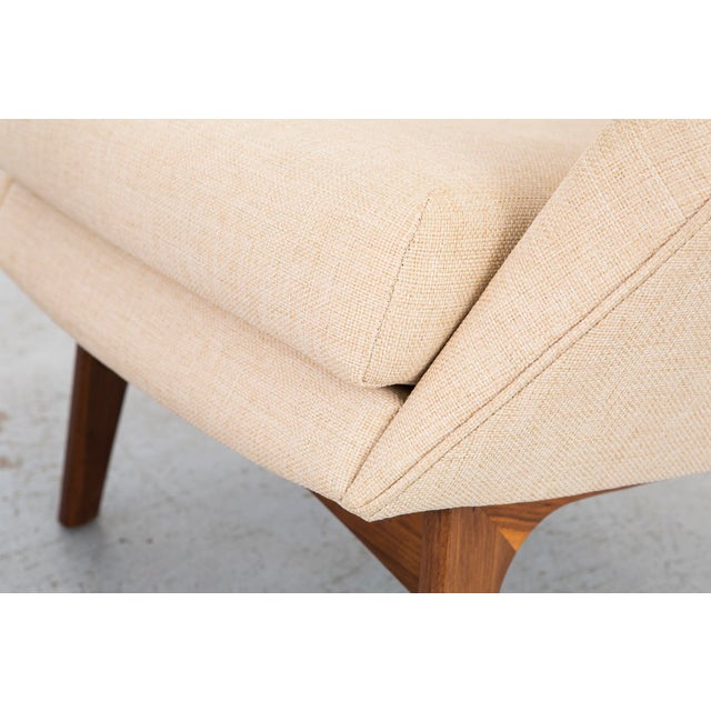 Set of Adrian Pearsall Wingback Chairs + Ottomans - Image 10 of 11