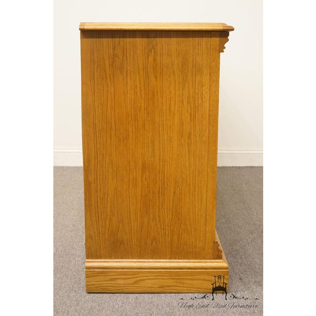 """American Drew Country French Oak 72"""" Triple Door Dresser For Sale - Image 9 of 13"""