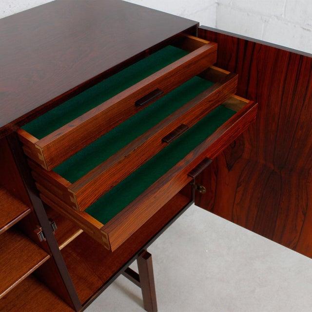 Ib Kofod-Larsen Danish Modern Rosewood Highboard - Image 7 of 10