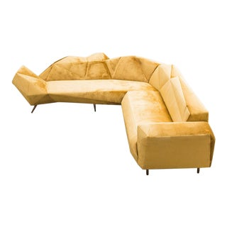 Hannes Grebin, Cozy L-Shape Sofa, De For Sale