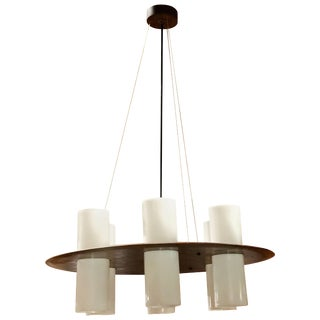 Esperia Round Chandelier, Italy, 1960 For Sale