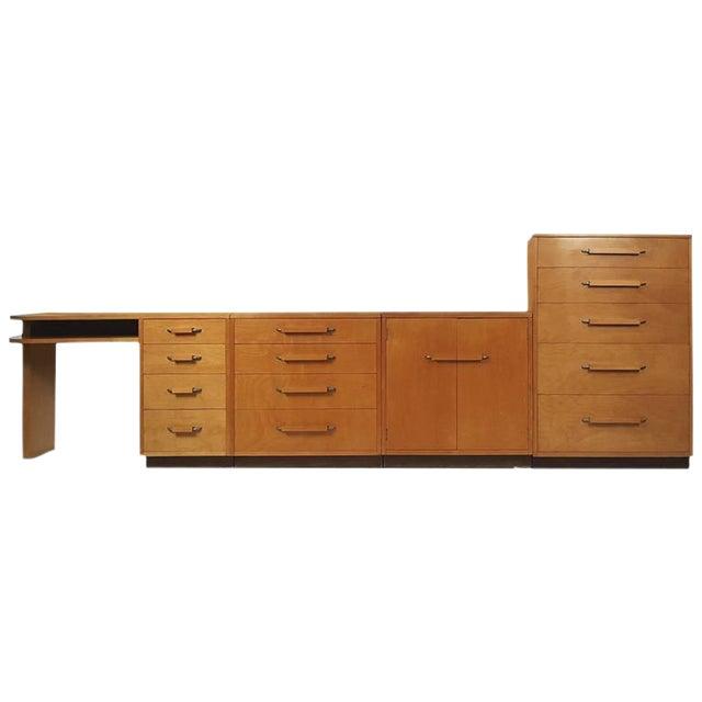 'Flexible Home Arrangement' Modular Birch Cabinet System by Eliel Saarinen - Image 1 of 8