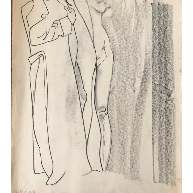 Nude Figure Study Sketch For Sale In Minneapolis - Image 6 of 6