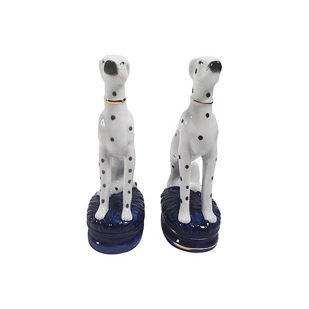 Staffordshire-Style Dalmations - A Pair - Image 4 of 5