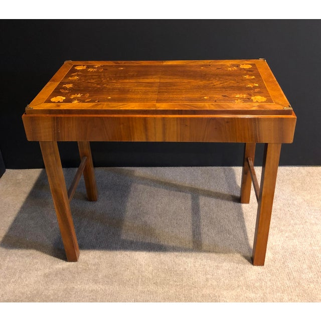 Mid-Century Modern Kunst-Mobel Folding Table For Sale - Image 11 of 13