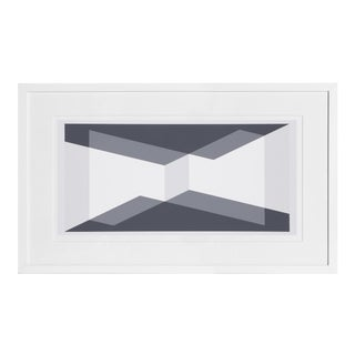 Josef Albers - Portfolio 1, Folder 10, Image 1 Framed Silkscreen For Sale