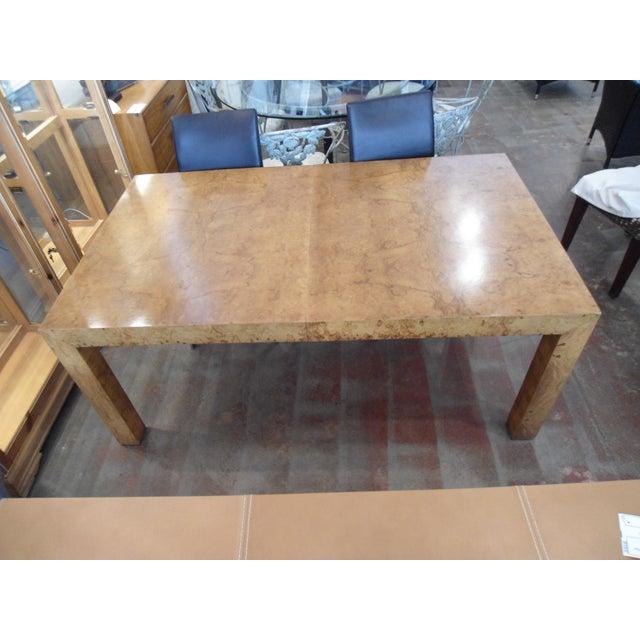 Milo Baughman Parson Dining Table - Image 6 of 9