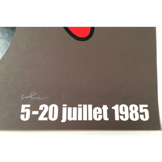 Montreux Jazz Festival Poster by Shigeo Fukuda For Sale - Image 9 of 10