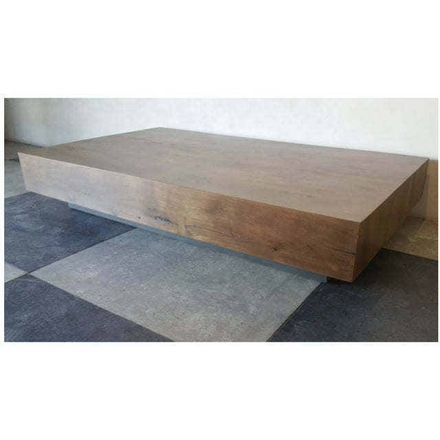 Oz|shop Antique French Attic Board Coffee Table For Sale - Image 4 of 4