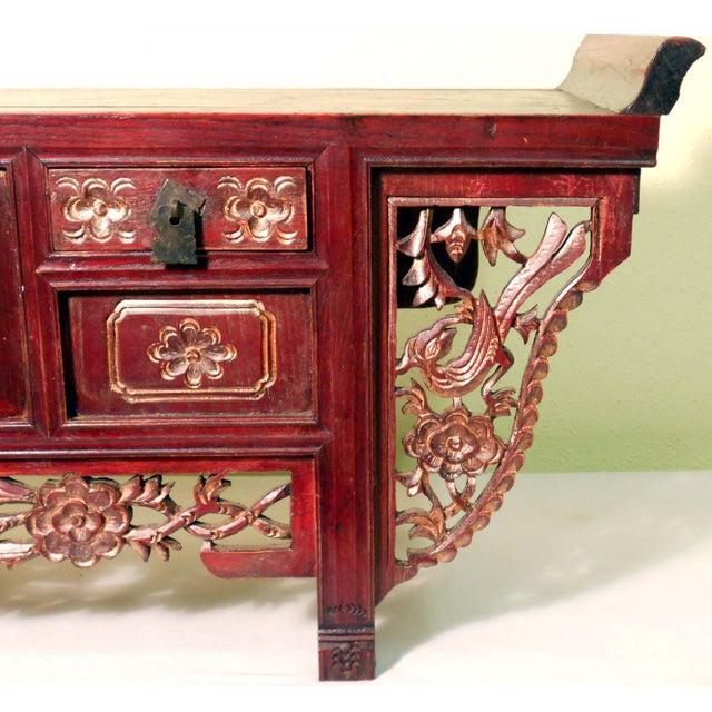Antique Chinese Petit Altar, 1800-1849 - Image 3 of 7