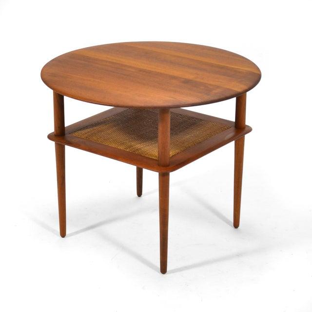 France & Daverkosen Peter Hvidt/ Mølgaard-Nielsen Fd 522 Occational Table For Sale - Image 4 of 10