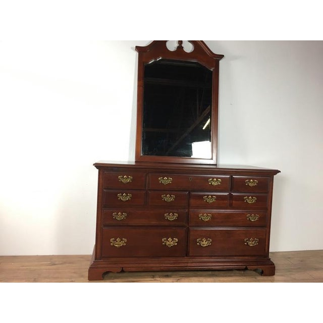 Antique Georgian Style Dresser For Sale - Image 4 of 7
