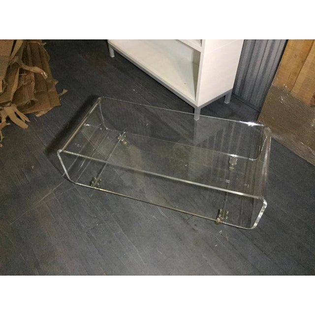 Fantastic Minimalist Cb2 Peekaboo Acrylic Tv Stand On Wheels Unemploymentrelief Wooden Chair Designs For Living Room Unemploymentrelieforg