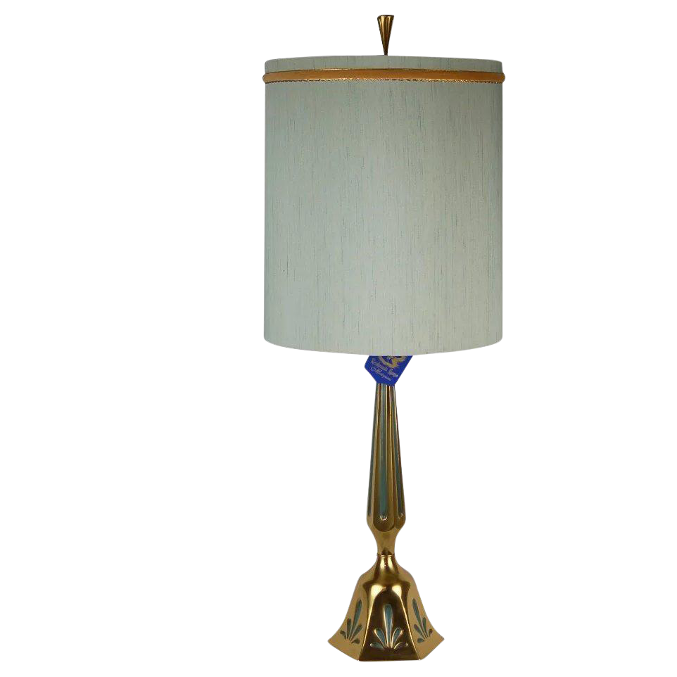 Rembrandt Mid Century Modern Brass Table Lamp Chairish
