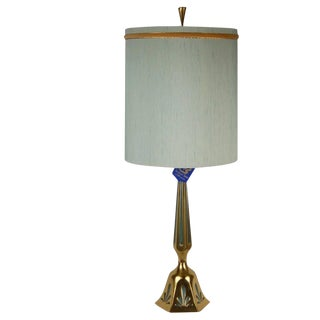 Rembrandt Mid-Century Modern Brass Table Lamp For Sale