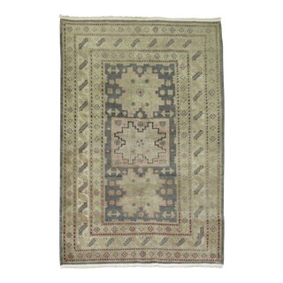 Vintage Khotan Rug, 4'1'' X 6'1'' For Sale