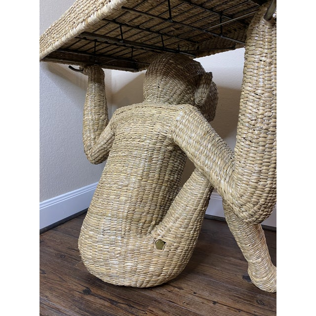 2010s Mario Torres Monkey Console Table For Sale - Image 5 of 8