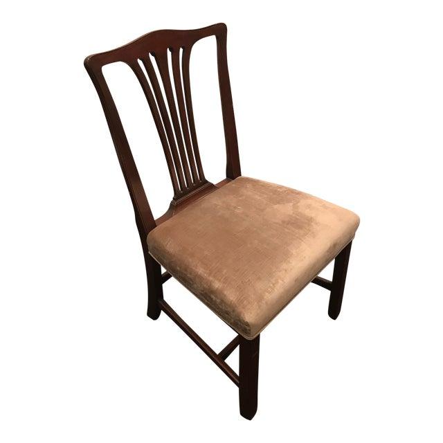 Arthur Brett Mahogany Sunbury Park Dining Chairs - Set of 10 - Image 7 of 10