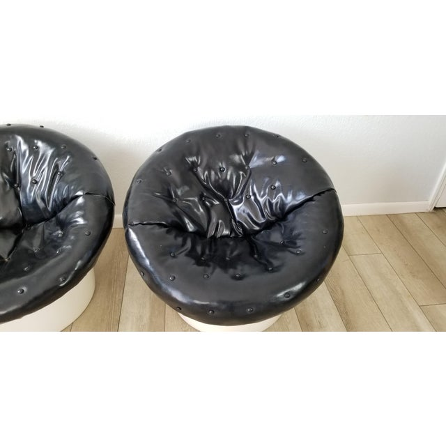 Italian Postmodern Style Out / Indoor Club Chairs a Pair . For Sale - Image 4 of 12