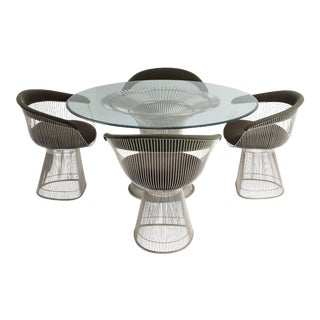 Warren Platner Dining Room Set for Knoll For Sale